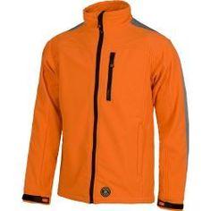 CHAQUETA WORK SHELL COLOR NARANJA    Chaqueta Work Shell  Workshell con cierre de cremallera de nylon.  Cuello alto.  Puño con velcro.  Un bolso de pecho con cremallera de nylon.  os bolsos laterales con cierre de cremallera. Athletic, Zip, Color Naranja, Jackets, Html, Clothes, Fashion, Sweater Vests, Pants