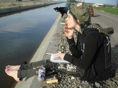 crust punk+ animal liberation