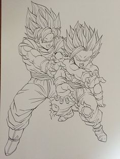 Discover recipes, home ideas, style inspiration and other ideas to try. Tattoo For Son, Son Tattoos, Ball Drawing, Coloring Pages Inspirational, Z Arts, Dragon Ball Gt, Art Reference, Sketches, Mechanic Tattoo