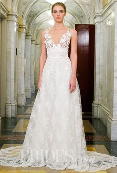 An exquisitely delicate @vkkny wedding dress | Brides.com