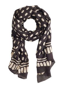 Cropped: Block Shop Printed Scarf