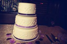 What an elegant wedding cake! Photo by Mark W. #WeddingCakesMinneapolis