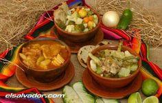 Sopas salvadoreñas: de patas, de gallina y de res.
