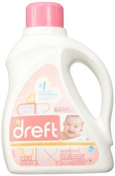 Dreft Stage Newborn Hypoallergenic Liquid Baby Laundry Detergent (HE), Natural for Baby, Newborn, or Infant, 100 Ounces loads) Baby Laundry Detergent, Cleaning Supplies, Stage, Baby Products, Packaging, Board, Polyvore, Gifts, Top
