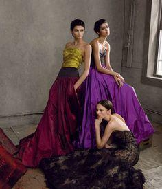 Vanessa Axente, Isabella Emmack, Mica Arganaraz & Julia Bergshoeff by Annie Leibovitz for Vogue US June 2015