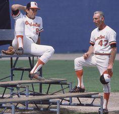 Cal Ripken Jr. and Cal Ripken Sr. - 1984