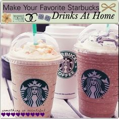Tip: Make Your Favorite Starbucks Drinks At Home! - Polyvore, I just made the Frap. Delish