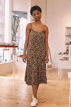 Joycedale Strap Dress, Multicolor by Ganni