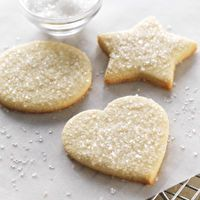 Gluten-Free Sugar Cookies made with baking mix by King Arthur Flour