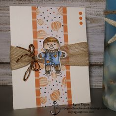 StampinUp CAS Halloween Card made with Halloween Nights Designer Series Paper…