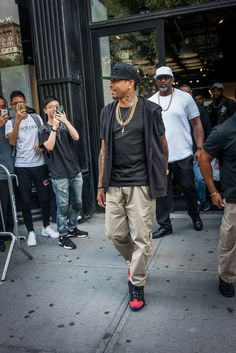 """Allen Iverson at the Packer x Reebok Question Mid """"Curtain Call"""" Launch Event…"""