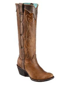 Corral Kats Natural Westport Cowgirl Boots - Snip Toe.....NICE !!!!!!