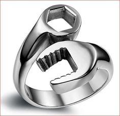 Cool Mechanic Wrench🔧 Tool Stainless Steel Ring 👻   👇👇👇🎁 FREE+SHIPPING 🚢🚚    🇺🇸 ONLY !! 😘💖 https://heyilikewow.com/products/cool-mechanic-wrench-tool-stainless-steel-ring