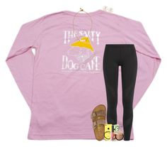 """d-now this weekend☺️"" by theblonde07 ❤ liked on Polyvore featuring adidas, H&M, Birkenstock, Tai, Lead, Too Faced Cosmetics, NARS Cosmetics, Henri Bendel and NYX"