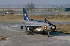XN793/A Lightning F2A 92Sqn