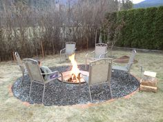 Backyard Firepit.