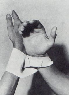 Dialogue of Hands by Lygia Clark