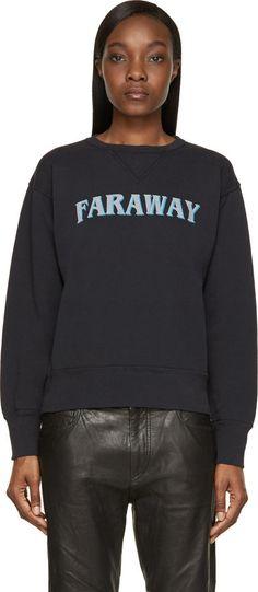 Isabel Marant Etoile Black Faraway Eric Sweatshirt | ≼❃≽ @kimludcom