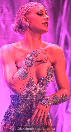 Scarlett James, Countess of Burlesque by Scarlett James, via Behance LOVE the nude gauntlets!