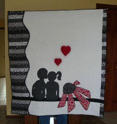 "Such an adorable quilt made by ""Lady T"" a member on the quilting forums http://forum.missouriquiltco.com"