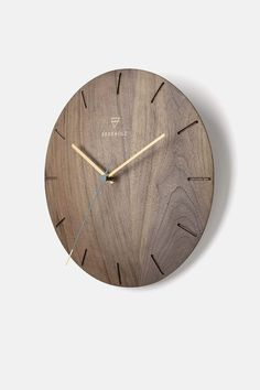 Wall Clock Wooden, Wood Clocks, Ufo, Cnc Laser, Wood Log Crafts, Minimalist Wall Clocks, Handmade Wall Clocks, Driftwood Lamp, Wall Watch