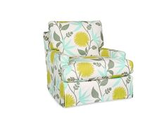 Shop For Lee Industries Slipcovered Swivel Chair, C3972 01SW, And Other  Living Room