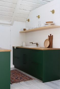 a-frame finished kitchen renovation semihandmade sarah sherman samuel