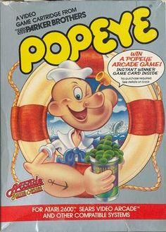 Popeye Video Game