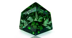 """This fancy vivid green diamond will be on display as part of the Natural History Museum of Los Angeles County's upcoming """"Green Diamonds: Natural Radiance"""" exhibition, featuring more than 60 rare stones on loan from Optimum Diamonds. Mineral Stone, Green Diamond, History Museum, Gems And Minerals, Jewelry Branding, Diamond Jewelry, Gold Jewellery, Silver Jewelry, Jewelry Trends"""