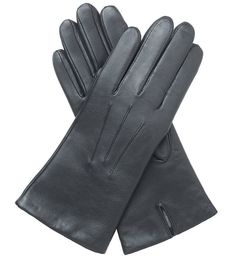 Luxurious Cashmere Lined Soft Leather Black Gloves. Will exceed expectations and priced at £36.00. Learn more..