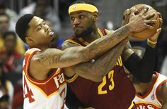 After months of waiting, we're down to the final four teams. In the NBA Eastern Conference, those teams are the top-seeded Atlanta Hawks and the second-seeded Cleveland Cavaliers. Nba Cleveland, Cavaliers Cleveland, Hawks Game, Eastern Conference Finals, Game Of The Day, Overcoming Adversity, Free Throw, Final Four, Nba News