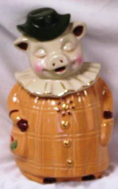Winnie Pig Cookie Jar