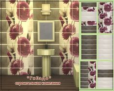 """Sims 3 by Mulena: Bathroom tile """"Comfort"""" • Sims 4 Downloads"""