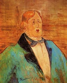 Oscar Wilde by Toulouse-Lautrec