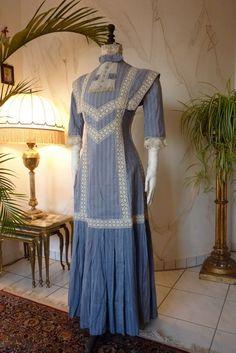 Summer Dress, circa 1910.