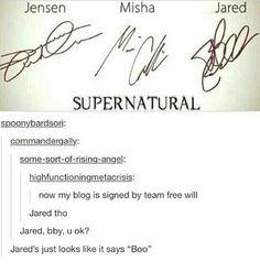 Haha Jared, bby, u ok?