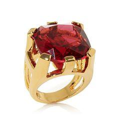 Hutton Wilkinson Colored Stone Signature Ring