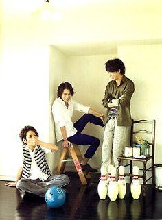 Nino, Jun & Sho