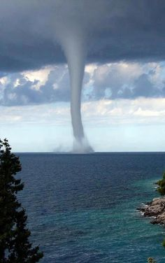 Water Spout Tornado | See More Pictures