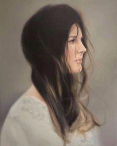Siri Gindesgaard, Untitled, 2018, GALLERI RAMFJORD Hyperrealism, Siri, Google Images, Painting & Drawing, Oil On Canvas, Artsy, Long Hair Styles, Oil Paintings, Artwork