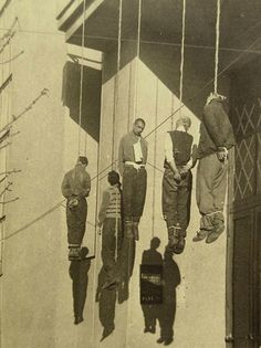 Germans executed partisans in Kharkov on Main Street 25 October 1941