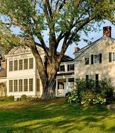 Country Home *many windows *white/light exterior color *open yards