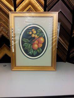 An Original Art Piece I Framed For A Local Artist