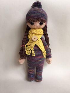 Lalylala winter doll by MadewithlovebyEvy on Etsy ☆