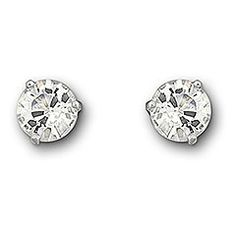 Each stud of the Solitaire pierced earrings comprises one crystal solitaire in an elegant setting. This pair of rhodium-plated earrings dazzles and shimmers in subtle ways, making a statement of classic, minimalistic elegance. The earrings come as a pair and combine perfectly with Swarovski's other clear crystal designs.