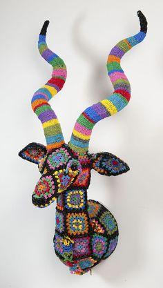 Sent from my BlackBerry  Taxidermy crochet!