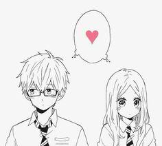 Manga: Hibi chouchou Kawaii and romantic Couple Manga, Anime Love Couple, Cute Anime Couples, Manga Drawing, Manga Art, Hibi Chouchou, Image Couple, Romantic Manga, Manga Love