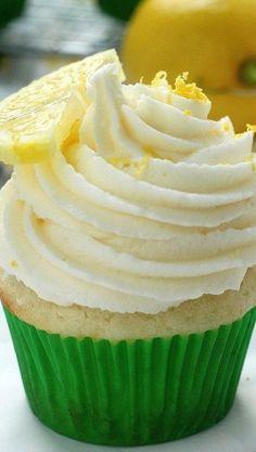 #KatieSheaDesign ♡♡♡ Light and Lovely Lemon Cupcakes