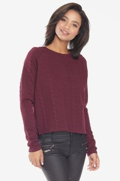 Cable Crew Pullover