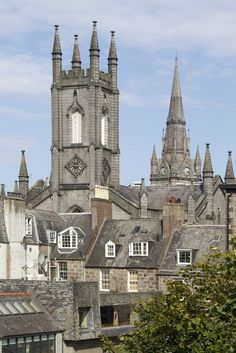Aberdeen in Scotland, with the former South Church, now a bar!! by N. Gill